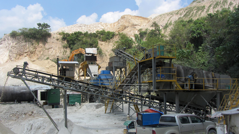 sand making production line in Malaysia